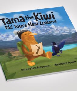 NEW Tama the Kiwi Tiki Tours New Zealand - single