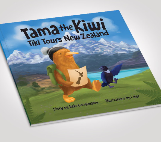 NEW Tama the Kiwi Tiki Tours New Zealand – single